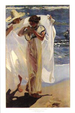 After the Bath by Joaquin Sorolla
